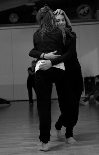 Marielle Gerke & Nadja el Eid Tanzsamstag Göttingen 2015 © Anton Säckl